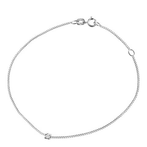 Dyamant Silver Diamond Bracelet 0.03cts