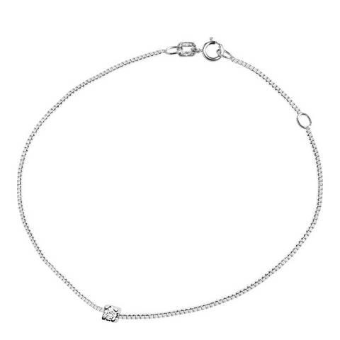 Diamant & Argent Silver Diamond Bracelet  0.05cts