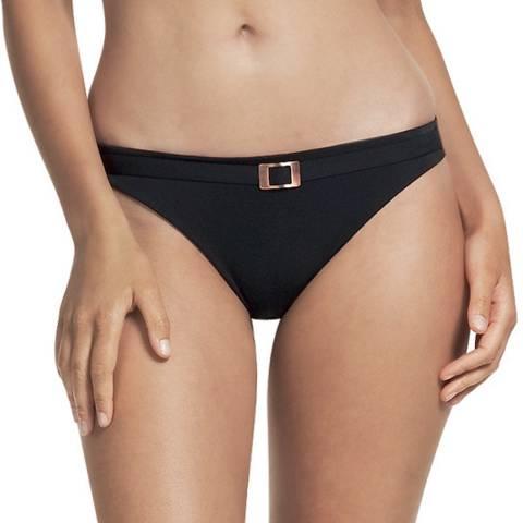 Fantasie Black Seattle Belted Classic Bikini Briefs
