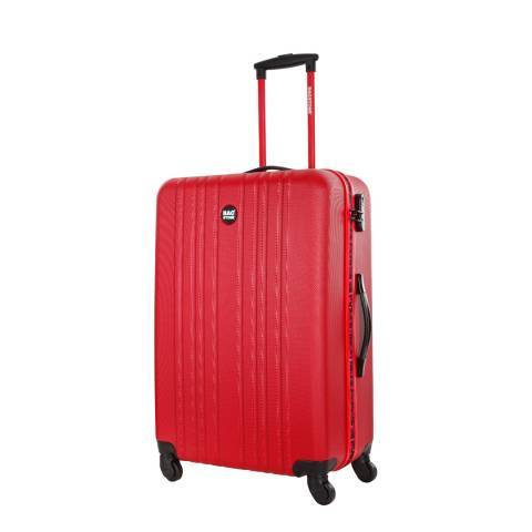 Bagstone Red Spinner Life Suitcase 55cm