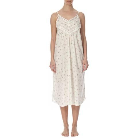 Cottonreal Cream Odele Nightdress