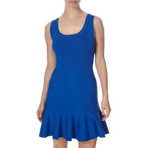 Diane von Furstenberg Cobalt Star Sapphire Sleeveless Dress