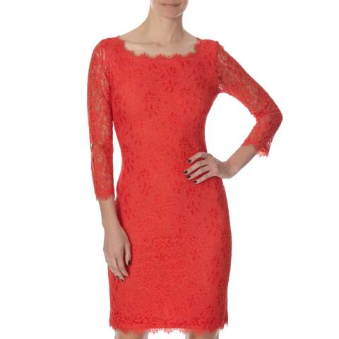 Diane von Furstenberg Red Zarita Dress