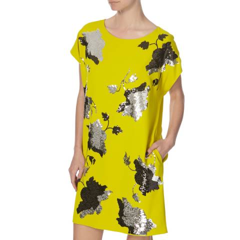 Diane von Furstenberg Lime Green Harriet Dress