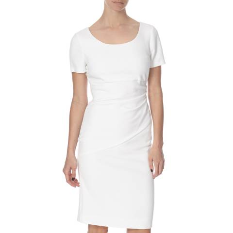Diane von Furstenberg White Bevina Dress