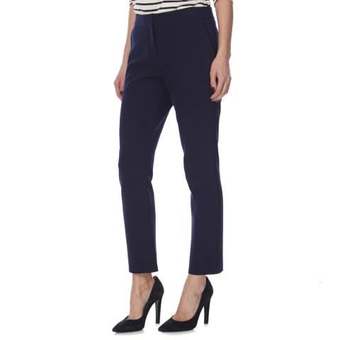 Diane von Furstenberg Navy Slim Leg Genesis Trouser