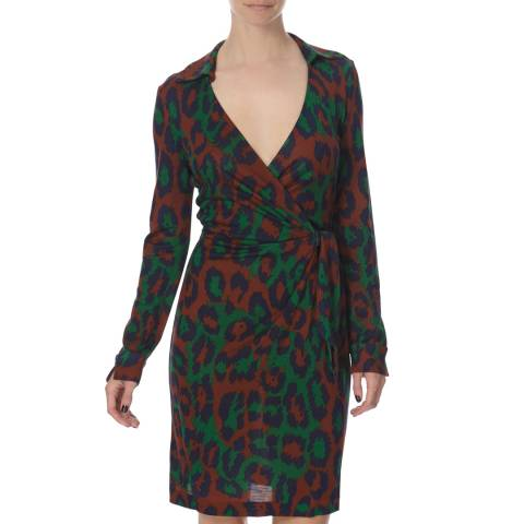 Diane von Furstenberg Multi Silk Savannah Dress