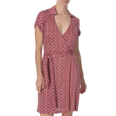 Diane von Furstenberg Pink Silk Jilda Dress
