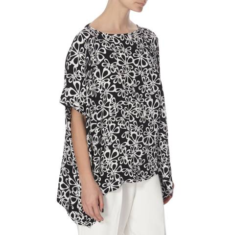 Diane von Furstenberg Black New Hanky Top