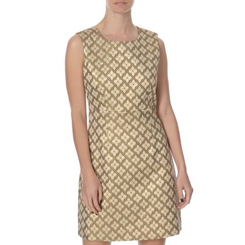 Diane von Furstenberg Gold Carrie Dress