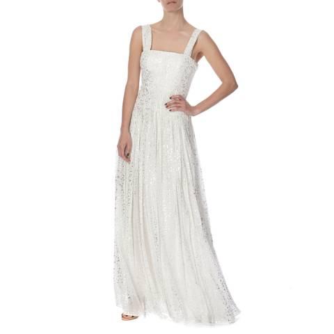 Diane von Furstenberg White Silk Lillie Dress