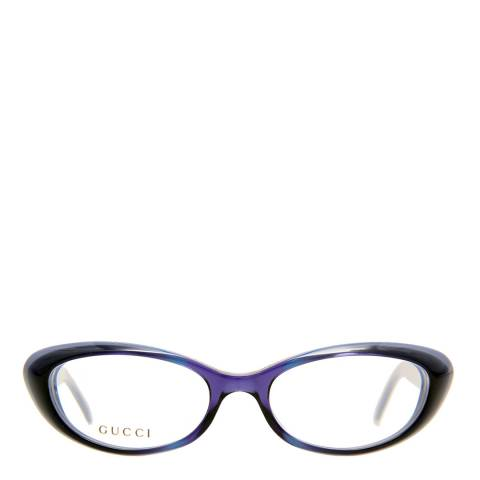 Gucci Women's Purple Gucci Glasses 51mm