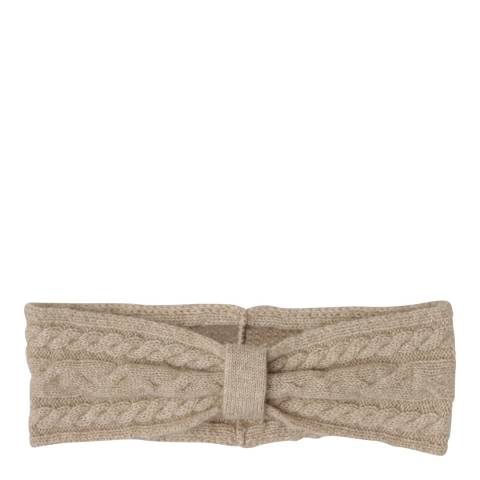 Laycuna London Taupe Cashmere Head Band