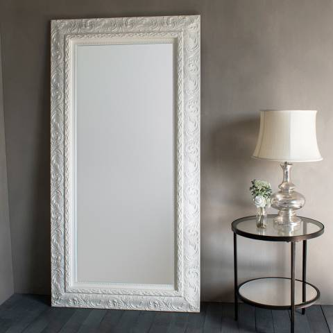 Gallery Cream Versaille Leaner Mirror 180x94cm