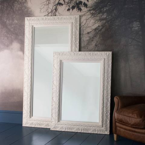 Gallery Cream Versaille Leaner Mirror 180 x 94cm