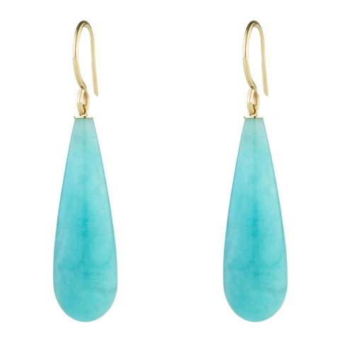 Liv Oliver Turquoise  Tear Drop Earrings