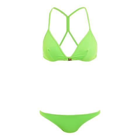 Melissa Odabash Lime Green Cabo Bikini