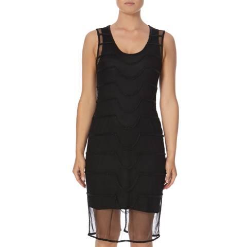 Bolongaro Trevor Black Chained Dress