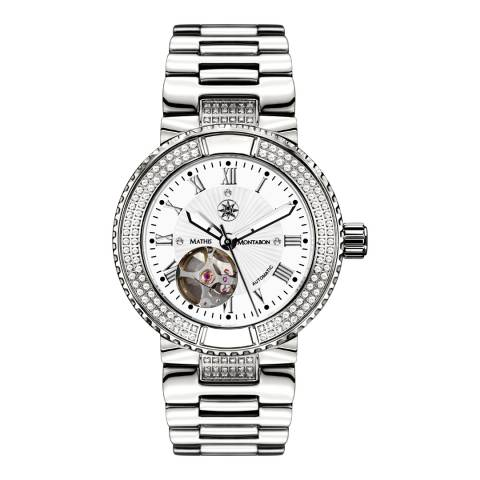 Mathis Montabon Women's Reveuse Silver Stainless Steel Watch