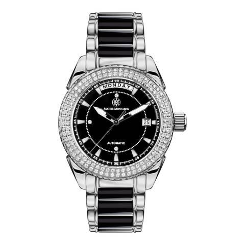 Mathis Montabon Women's La Magnifique Black and Silver Ceramic Watch