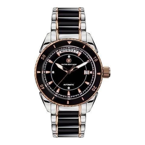 Mathis Montabon Women's La Magnifique Black and Rose Gold Ceramic Watch