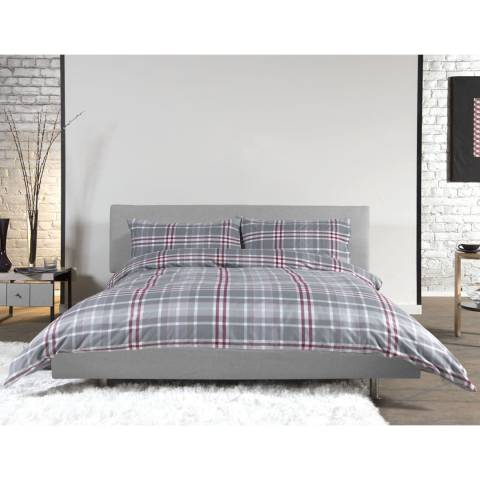 Deyongs Crome Kingsize Duvet Set