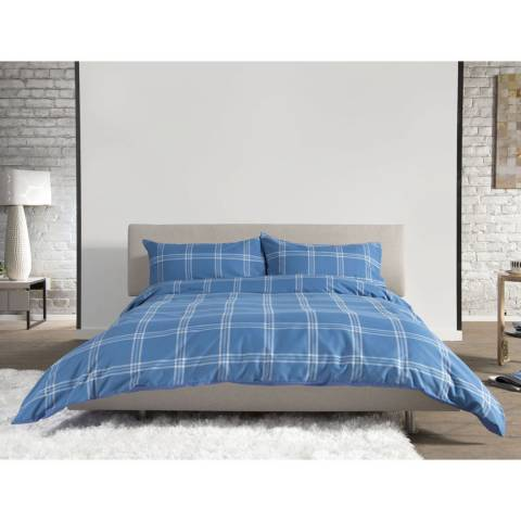 Deyongs Blue Single Mousehold Heath Duvet Set