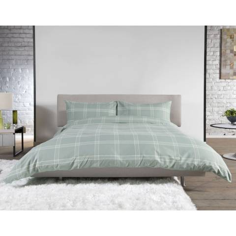 Deyongs Green Superking Mousehold Heath Duvet Set
