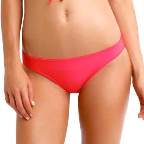 Seafolly Red Bow Back Brazilian Bikini Briefs