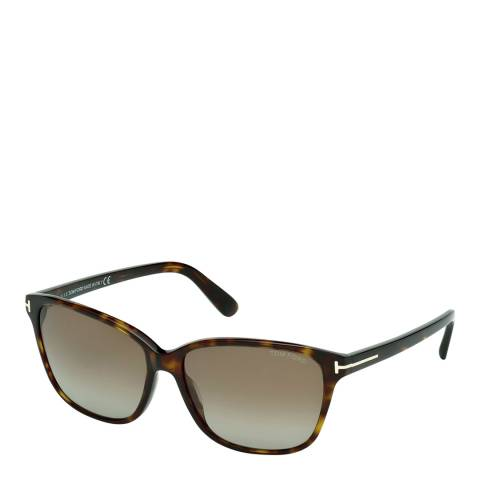 Tom Ford Men's Dark Brown Sunglasses 59mm