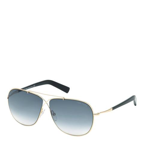 Tom Ford Women's Graduated Grey Sunglasses 61mm