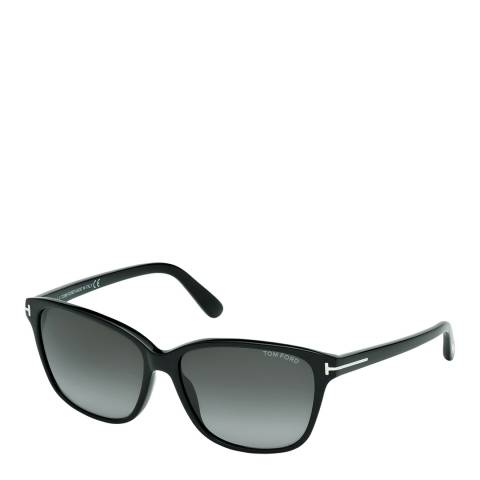 Tom Ford Women's Shiny Black / Graduated Smoke Sunglasses 59mm