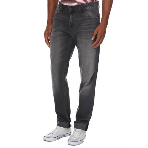 J Brand Charcoal Grey Tyler Cotton Slim Fit Stretch Jeans