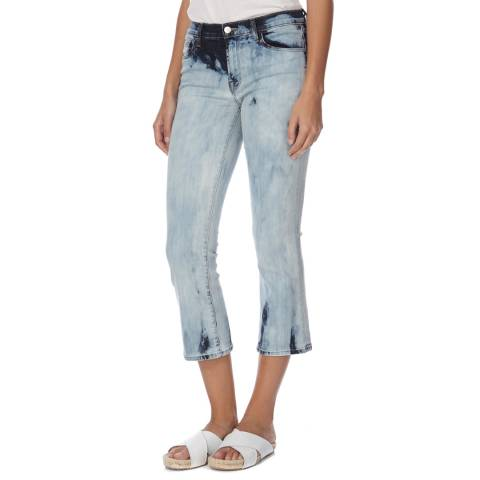 J Brand Blue Selena Boot Cut Stretch Jeans
