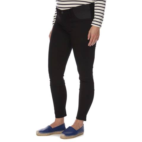 J Brand Black Maternity J Mid Rise Skinny Fit Stretch Jeans