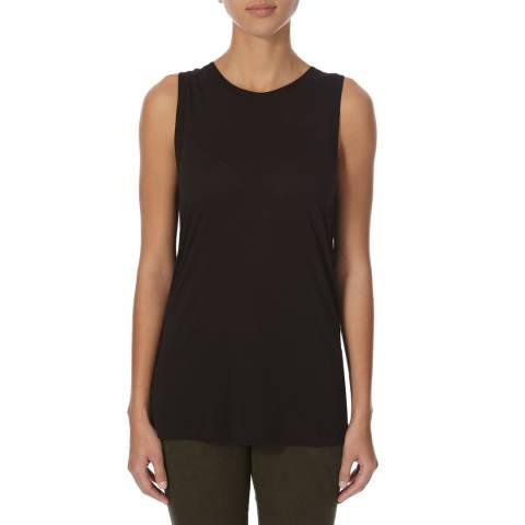 J Brand Black Carondelet Vest Top