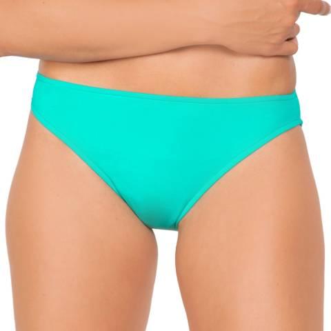 Seafolly Turquoise Retro Bikini Briefs