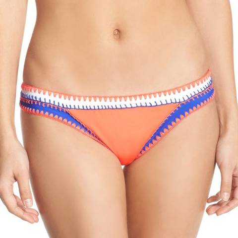 Seafolly Orange Summer Vibe Hipster Bikini Briefs