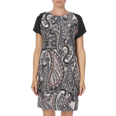 DAY Birger Et Mikkelsen Paisley Printed Silk Mix Voyage Dress