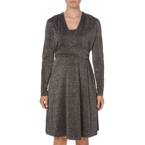 DAY Birger Et Mikkelsen Black Cure Wrap Dress