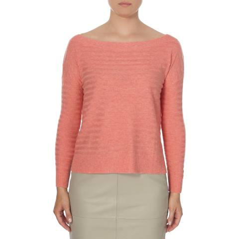 2ND DAY Coral Wool/Cashmere Mix Amy Jumper