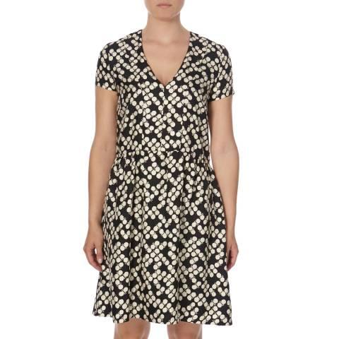 DAY Birger Et Mikkelsen Black Print Silk Stevie Dress