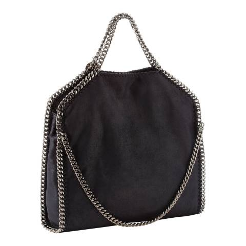 Stella McCartney Navy Three Chain Falabella Tote Bag