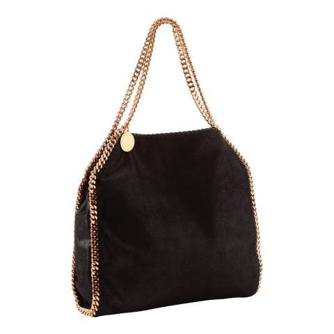 Stella McCartney Black Small Falabella Tote Bag