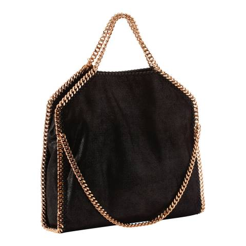 Stella McCartney Black Three Chain Falabella Tote Bag