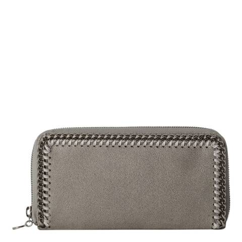 Stella McCartney Light Grey Falabella Continental Wallet
