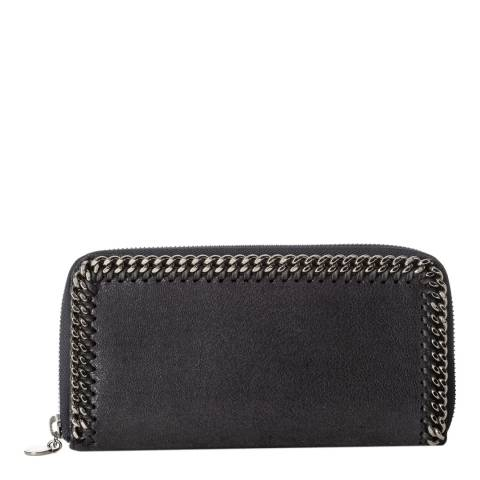 Stella McCartney Navy Falabella Continental Wallet