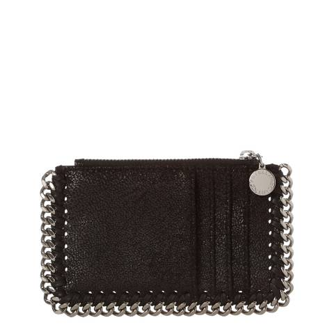 Stella McCartney Black Falabella Long Card Holder