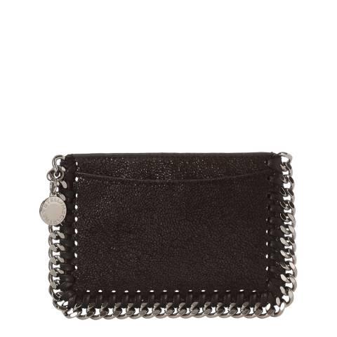 Stella McCartney Black Falabella Card Holder