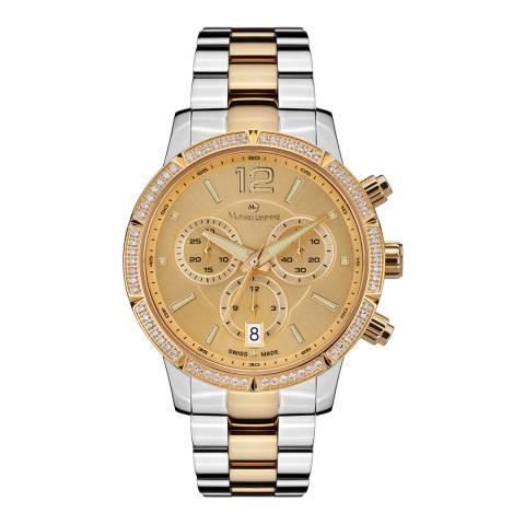 Mathieu Legrand Women's Silver/Gold Eclantante Watch